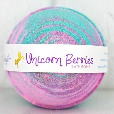 Unicorn Berries Bath Bomb