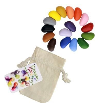 16 Colors in a Muslin Bag