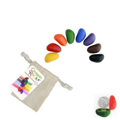 8 Colors in a Muslin Bag