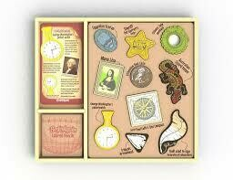 Begin Again Toys Arty Facts Shaping History Art Kit