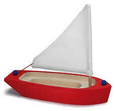 Glückskäfer Sailing boat, Red