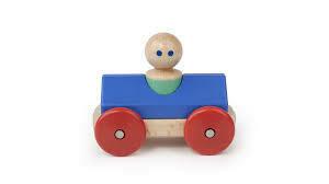 Tegu Magnetic Racer Blue and Poppy