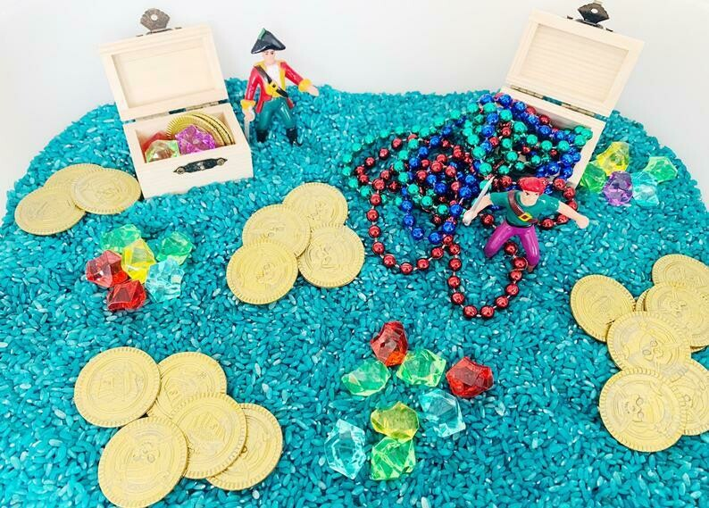 Pirate Sea Adventure Sensory Kit