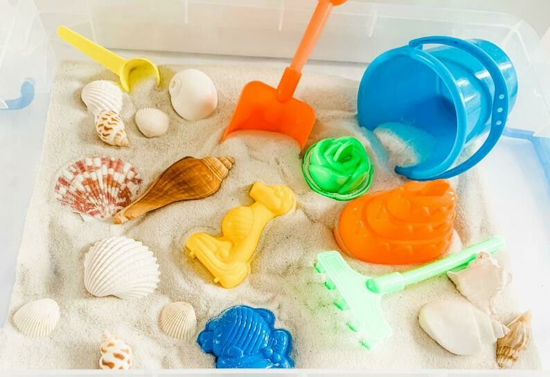 A Day at the Beach Sensory Kit