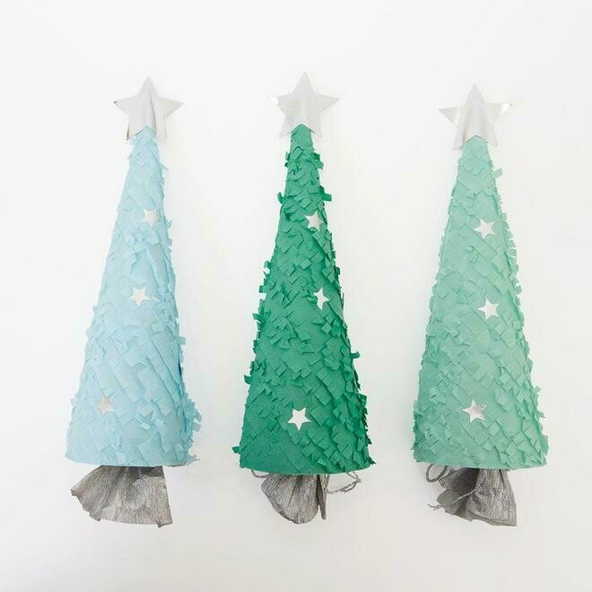 Meri Meri Christmas Trees Crackers