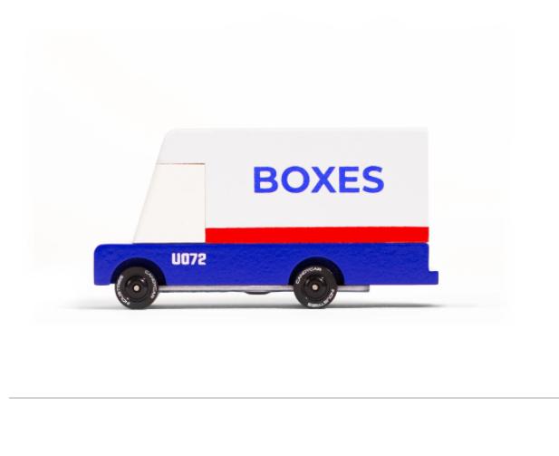 Candy Lab Mail Van