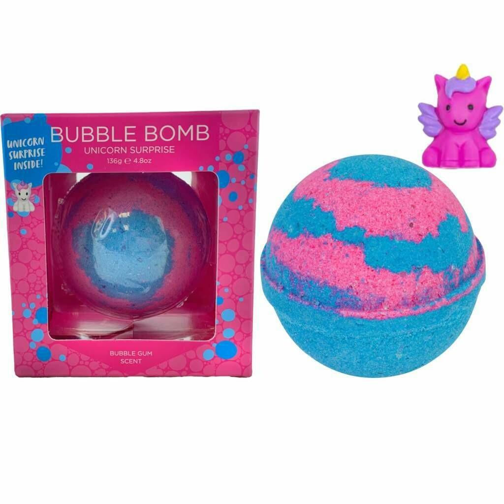 Unicorn Squishy Surprise Bubble Bath Bomb
