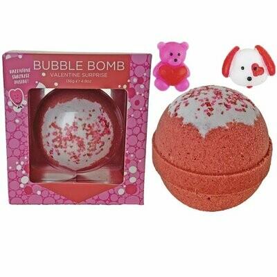 Valentine Surprise Bubble Bath Bomb