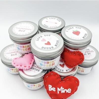 Valentine Classroom WonderDough Jar Sets