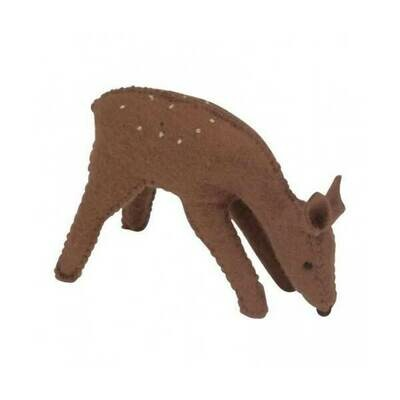 Glückskäfer Wool Felt Animals - Standing Doe