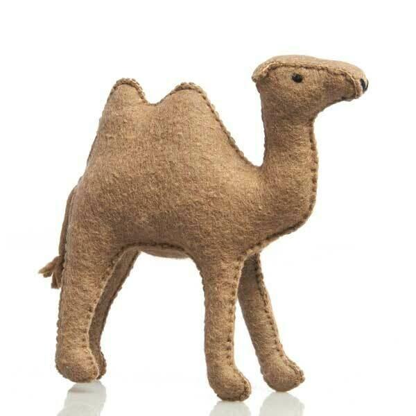 Glückskäfer Wool Felt Animals - Camel