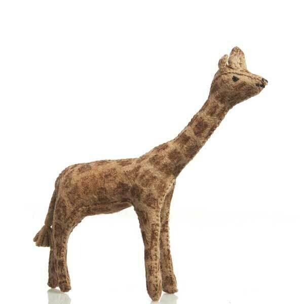 Glückskäfer Wool Felt Animals - Giraffe