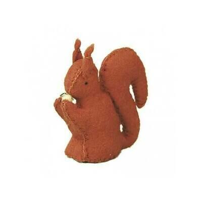 Glückskäfer Wool Felt Animals - Squirrel