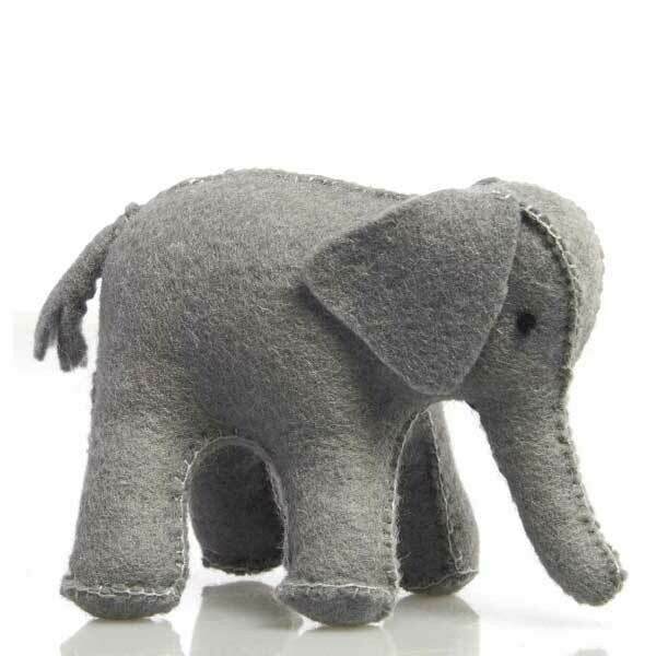 Glückskäfer Wool Felt Animals - Elephant