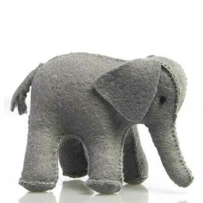 Glückskäfer Wool Felt Animals - Elephant