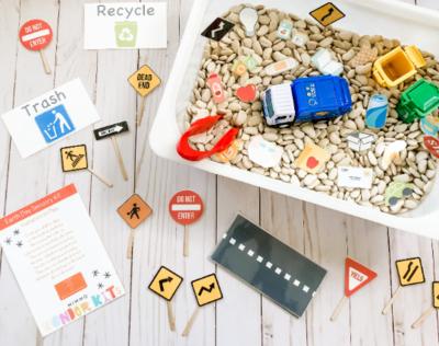 Save the Earth Sensory Kit