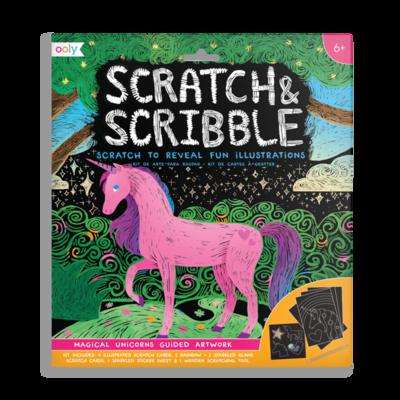 Scratch & Scribble Magical Unicorns