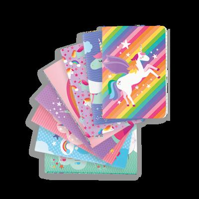 Mini Pocket Pals Journals - Unique Unicorns