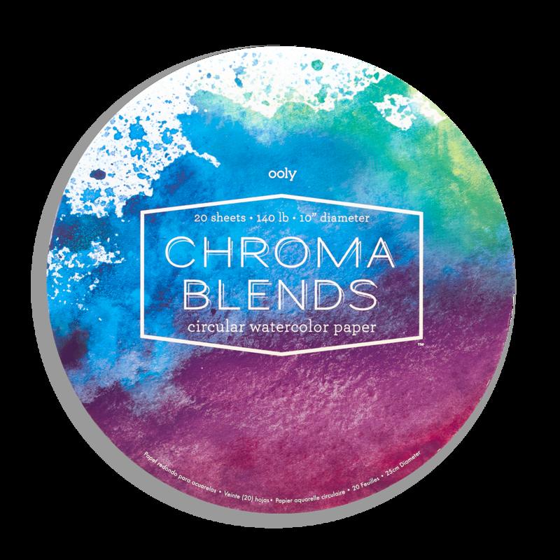 Chroma Blends Circular Watercolor Paper Pad