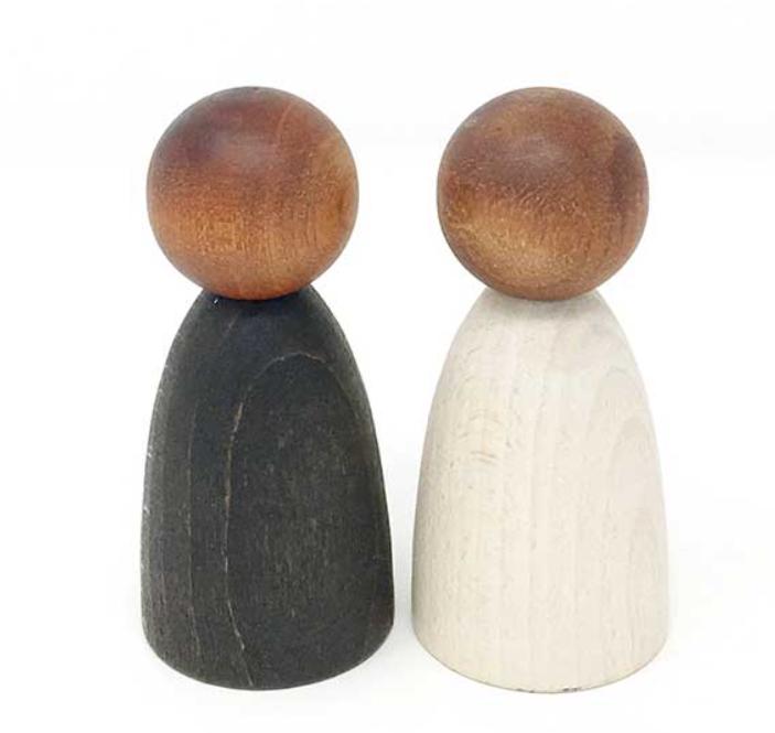 Grapat Adult Nins - Dark Wood