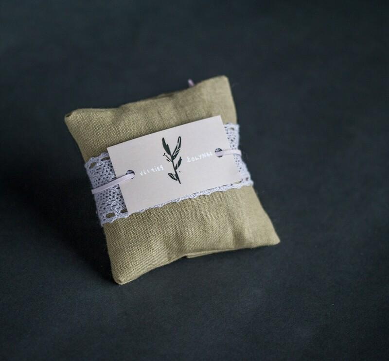 Kvapni levandų pagalvėlė