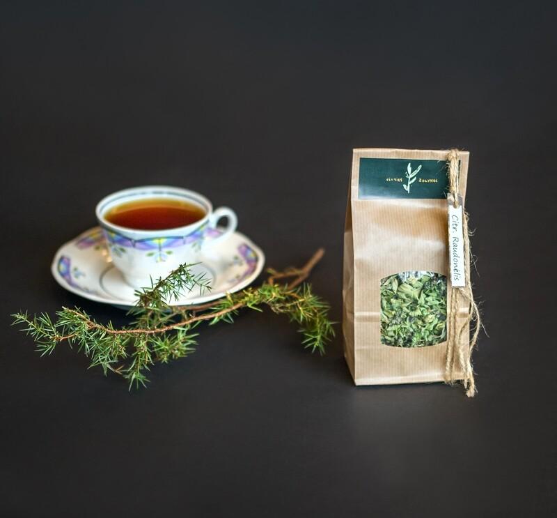Citrininio raudonėlio arbata