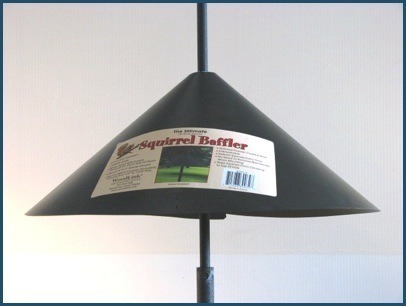 "18"" ultimate squirrel  pole baffle"