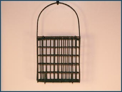Deluxe hanging suet cage by Woodlink