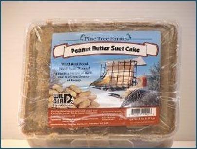 Peanut butter suet cake 3 lb.