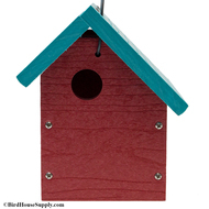 Slant Roof Bird House