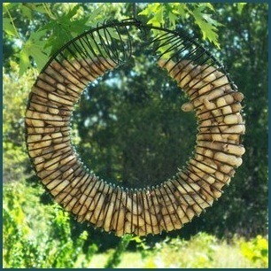 SE6020 Whole Peanut Wreath