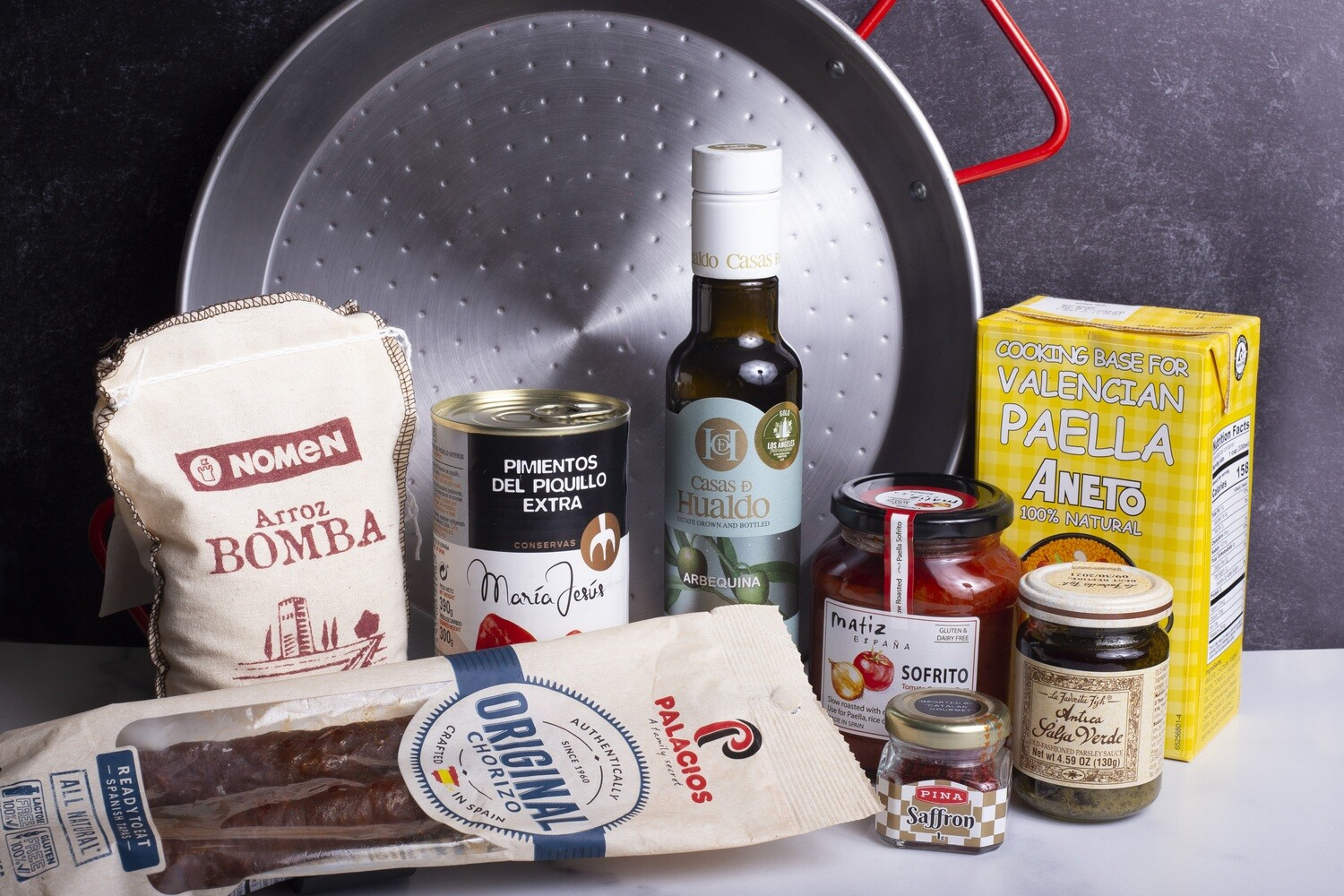 Paella Cooking Kit for 2