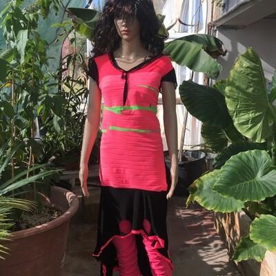 Bright Swirl Dress