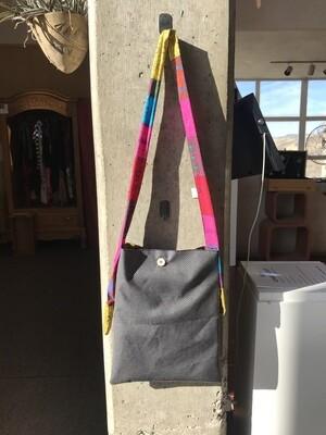 Grab bag BAG made with various fabrics.