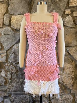 Pink Zero Waste Dress