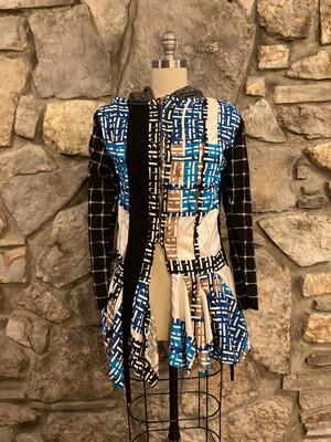 Hoodred Coat Dress