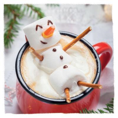 Mallow Snowman 10 pack