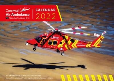 Official Cornwall Air Ambulance Calendar 2022