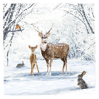 Stag & Fawn x 10