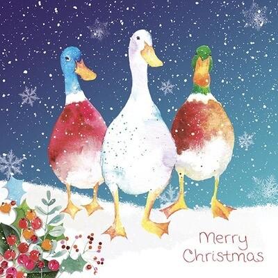 Quack It's Nearly Christmas x 10