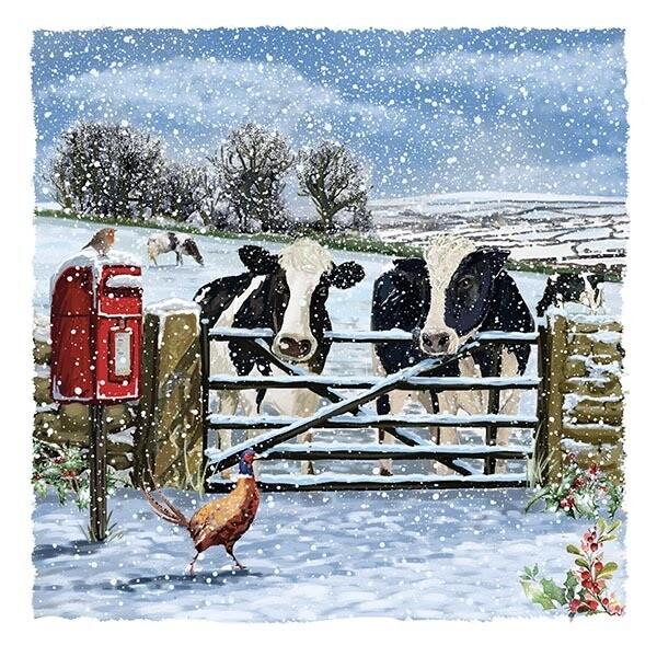 Winter Farm x 10