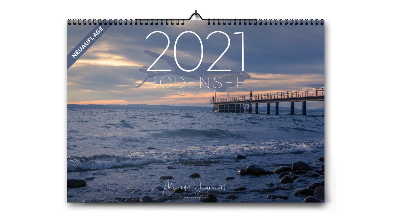 Bodensee Impressionen Kalender 2021 - Neuauflage -