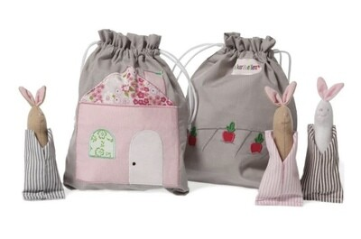 Oskar&Ellen Bunny Story Bag