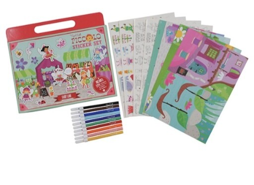 Fairy Lane Sticker And Colouring Set