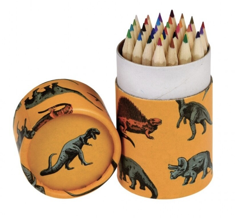 Dinosaur Tub Of 36 Pencils
