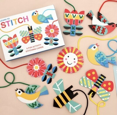 Learn To Stitch Activity By Rex London