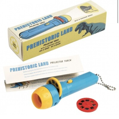 Prehistoric Land Projector Torch by Rex London