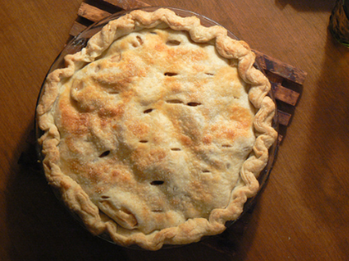 "Double Crusted Apple Pie ""Ready to eat"""