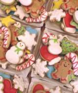 Christmas Cookie Tray (30 Cookies)