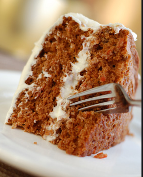 Carrot Cake with Caramel Pecan Filling (8 inch)